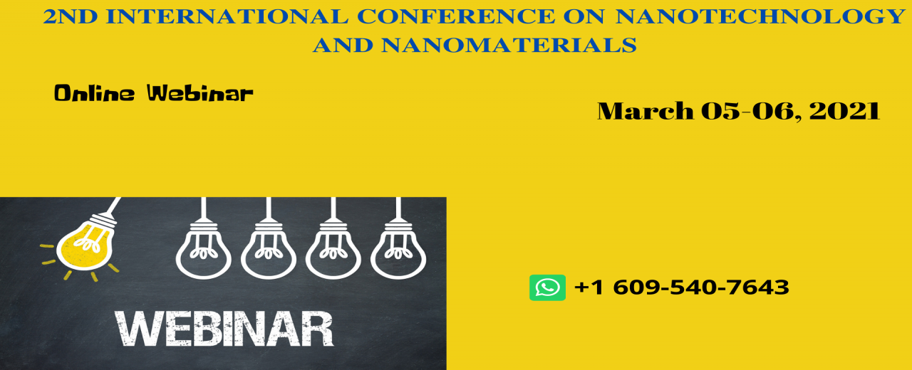Nanotech Webinar 2020